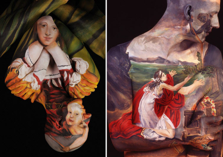 Chadwick Spector S Museum Anatomy Paintings Body Art