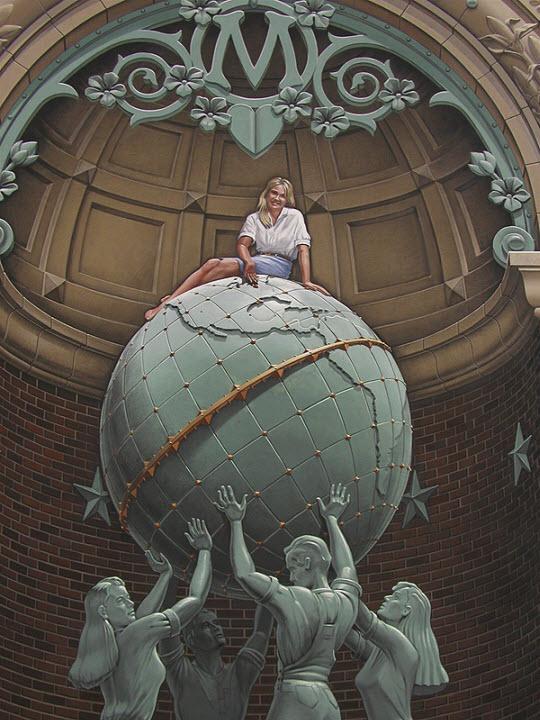 Eric Grohe Murals 3d Artist