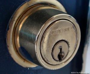 deadbolt lock denial fear unhappiness