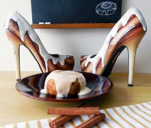 Cinnaholic Heels Wear Shoes Shoe Bakery Sweet Treats